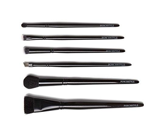 POSCHSTYLE Profi Make-up Pinsel - N°7 Blush Brush aus Birkenholz - made in Germany