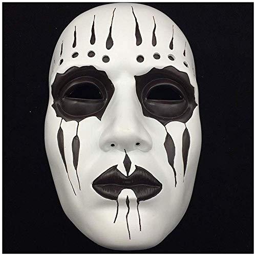 YaPin Halloween Harz Slipknot Maske Joey Maske Terror Cos Erwachsene Maske