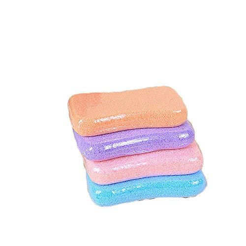 1Pcs Multifunktions-Foot Scrub Lava Bimsstein für Hard Dead Skin Premium-Pediküre Peeling Datei-Akupunkt-Massage zufällige Farbe - Clean Soft Body Lotion