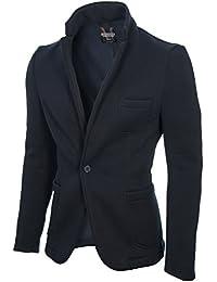 MODERNO - Slim Fit Veste Homme Coton Blazer (MOD14515B)