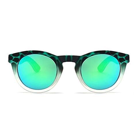 Z&YQ Sonnenbrille Luxus Handgefertigte Bambus Holzbrille UV Eyewear Zubehör Outdoor , double color wood foot green tortoise shell green mercury