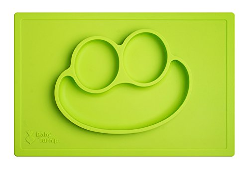 baby-turnip-fun-meal-placemat-lime-silicone-placemat-for-kids-toddlers-baby-plate