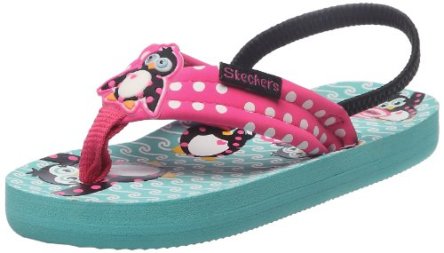 Skechers Waterlilly Splish Splash, Mädchen Sandalen, Pink (HPTQ), 24 EU