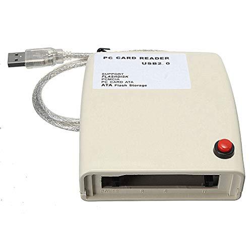 Lorsoul USB zu 68 Pin ATA PCMCIA-Flash-Disk-Speicherkartenleser-Adapter-Konverter LXT Computer USB-PCMCIA-Karten-Adapter