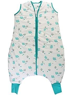Schlummersack Schlafsack mit Füßen für den Winter warm gefüttert in 3.5 Tog - erhältlich in verschiedenen Größen...