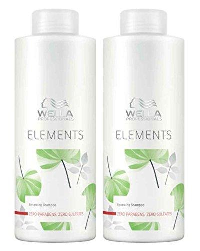 Wella Care Elements sulfatfreies Shampoo SET 2 x 1000ml