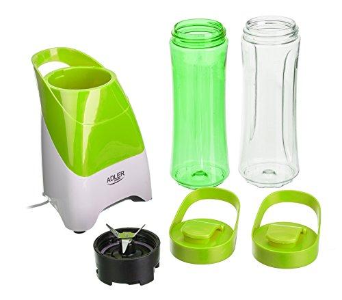 adler-ad4054g-smoothie-maker-frullatore-con-2-borracce-bicchieri-per-smoothie-richiudibili-da-600-ml