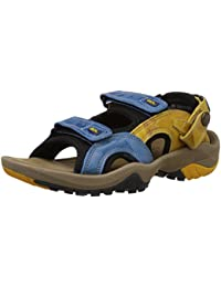 Woodland Men's Blue Leather Sandals and Floaters - 10 UK/India (44 EU)