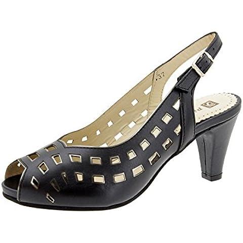Scarpe donna comfort pelle Piesanto 4279 sandali scarpe di sera