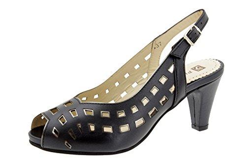 Scarpe donna comfort pelle Piesanto 4279 sandali scarpe di sera comfort larghezza speciale