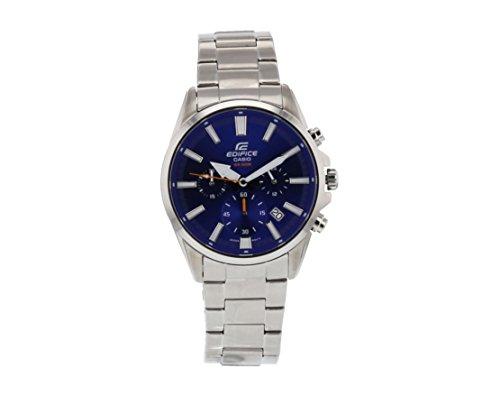 Casio Herren Datum klassisch Quarz Uhr mit Edelstahl Armband EFV-510D-2AVUEF