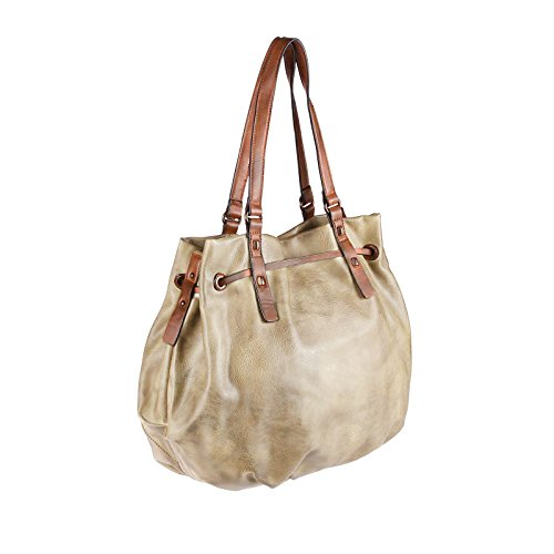 OBC Only-Beautiful-Couture Borsa Messenger nero nero ca.: 35x50x18 cm (BxHxT) Beige