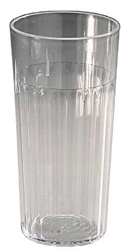 Capri Arrow Plastique Transparent gobelets, 453,6 Gram