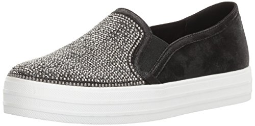 d8b61a5e1d Skechers Double Up-Shiny Dancer, Zapatillas sin Cordones para Mujer, Negro  (Black