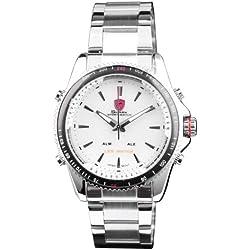 Shark LED Digital Armbanduhr Herrenuhr Quarzuhr Sportuhr Datum Uhr Watch SH004