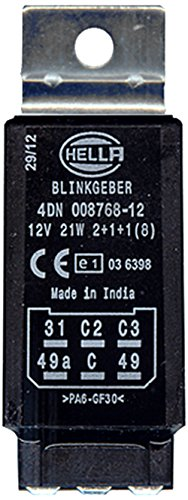 Preisvergleich Produktbild HELLA 4DN 008 768-121 Blinkgeber, 12V, elektronisch, mit Halter