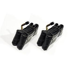 2x Bent Valve inner Tubes 12 ½ x 2 ¼ For Pram or Childs bike by ASC