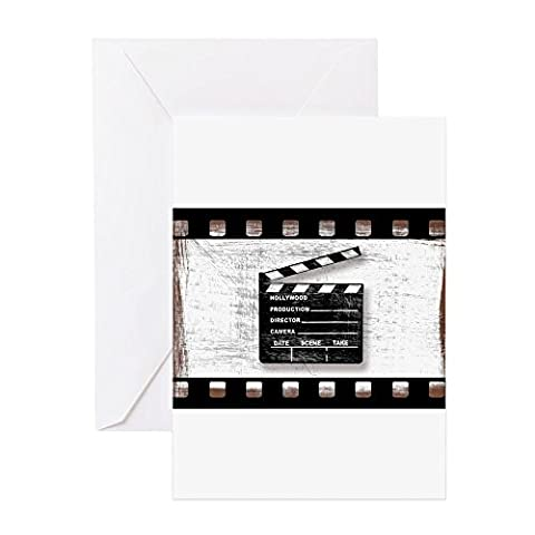 CafePress - Grungy Dirty Movie Clapper Director's Board With F
