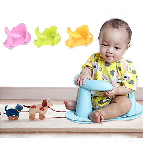 Imagen para Uokoki Asiento infantil de hidromasaje Bañera para bebés estera del cojín de silla de seguridad antipatinaje cuidado del bebé de bañar a los niños juguetes de lavado de asiento