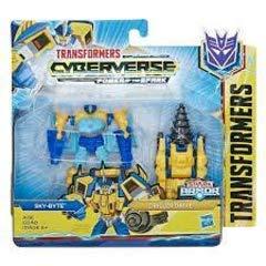 Transformers Hasbro Cyberverse Spark Armor Battle Skybyte,, E4297ES0