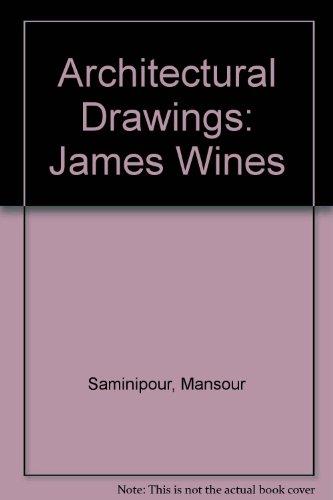 James Wines: Recueil de quarante-quatre dessins preparatoires sur douze projets par James Wines du Groupe Site par James Wines