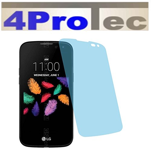 4ProTec 2 Stück GEHÄRTETE ANTIREFLEX Bildschirmschutzfolie für LG K3 K100 Displayschutzfolie Schutzhülle Bildschirmschutz Bildschirmfolie Folie