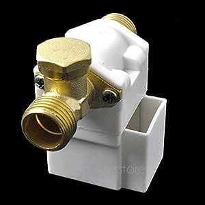 """Elettrovalvola elettrico per Acqua Aria N/C 12V DC 1/2"""""""