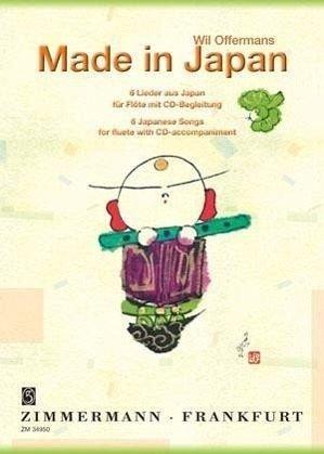 Made in Japan: Sechs Lieder aus Japan. Flöte. Ausgabe mit CD.