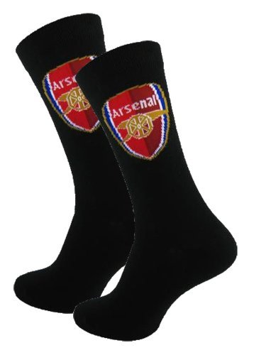 Arsenal F.C. Official Arsenal FC Mens Socks (Size 6/11) - A Great Gift / Present For Men, Sons, Husbands, Dads, Boyfriends For Christmas, Birthdays, Fathers Day, Valentines Day, Anniversaries Or Just As A Treat Fo