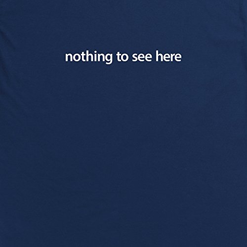 Nothing To See Here T-Shirt, Damen Dunkelblau