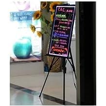 Pizarra LED luminosa 30x40cm, RGB, acrílicas ENTREGA 1-3 DÍAS