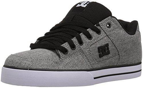 DC PURE TX SE D0320423 Herren Sneaker, Heather Grey, 9