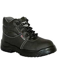 Chaussures De Sécurité Irlande 82183, Peau, Couleur, Noir (noir), 45
