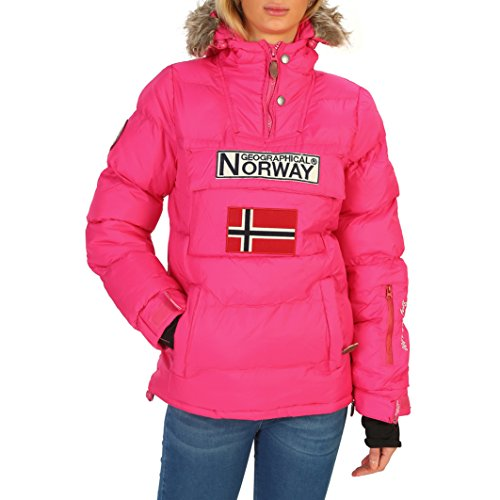 Geographical Norway Anson_woman Chaquetas Mujer Rosa 3