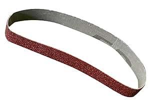 5 pièces bandes abrasives 30 x 533 mm grain de 240