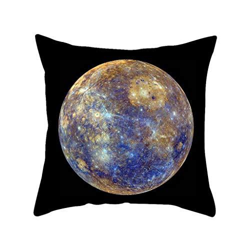 kissen Kuschelig Flauschig Plüschtier Spielzeug Geschenke Sofa Dekoration Solar System Sofa Heimtextilien Kissenbezug Kissenbezug ()