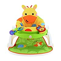 Giraffe Sit-Me-Up Feeding Booster Seat With Tray.