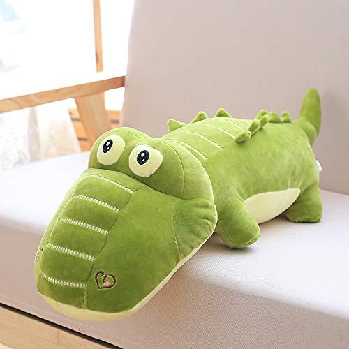 Morbuy Plüsch Spielzeug Stofftier Spielzeug, 60cm Grün Krokodil Spielzeug Doll Lovely Soft Toy Kids Gift