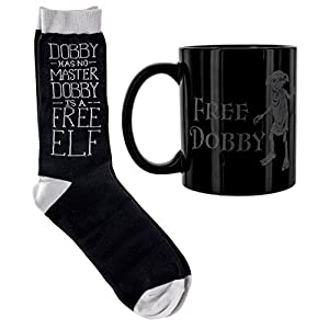 Harry Potter Dobby taza y calcetines Set, cerámica, multicolor, 12x 8x 10cm 3