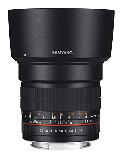 Samyang 85mm F1.4 Objektiv für Anschluss Fuji X - 5