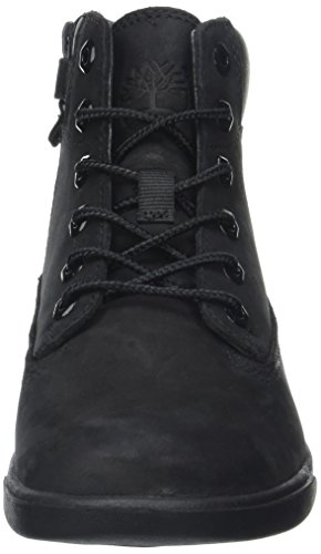 Timberland Unisex Kids  Groveton 6In Lace with SiBlackout Ankle Boots  Blackout  5 UK