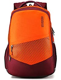 American Tourister 29.5 Ltrs Magenta Casual Backpack (AMT Mist SCH BAG02 Magenta)