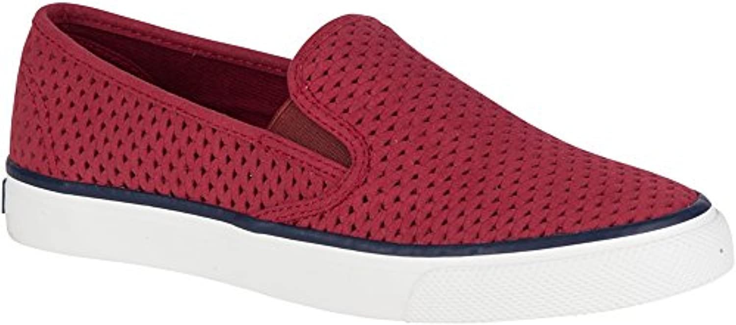 Sperry Top-Sider Wouomo Seaside Slip On Perf Loafer, rosawood, 5.5 M US | Commercio All'ingrosso  | Scolaro/Ragazze Scarpa