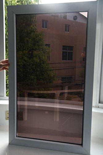 Lifetree Film Solaire Fenêtre Electrostatique Anti Chaleur Anti