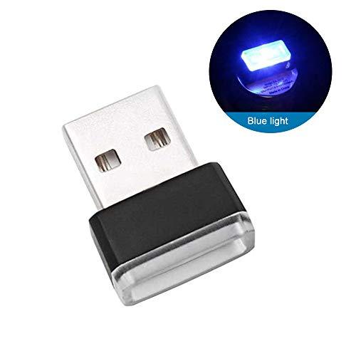 MENGZHEN 1PC Mini Kit Illuminazione Interna Auto LED Illuminazione Interna a Piedi Atmosfera Luce Lampada Decorazione Lu