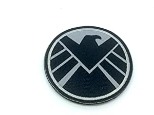 EAGLE Marvel Team SHIELD AGENT Emblème Brodé Airsoft Morale Patch