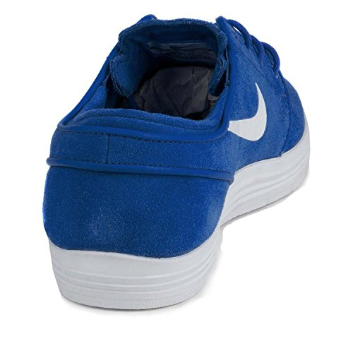Nike Lunar Stefan Janoski Skate-Schuhe-Spiel Royal / Game Royal/White