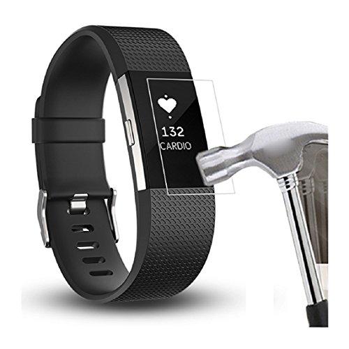 Displayschutzfolie, Transer 6HD Schutzfolie Intelligente LCD-Display Schutz für Fitbit Laden 2Displayschutzfolie