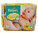 Pampers Swaddlers Diapers, Newborn (Up t...