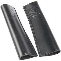 Harry's Horse 28600999-05 Leder Stulpen für Steigbügelriemen, schwarz